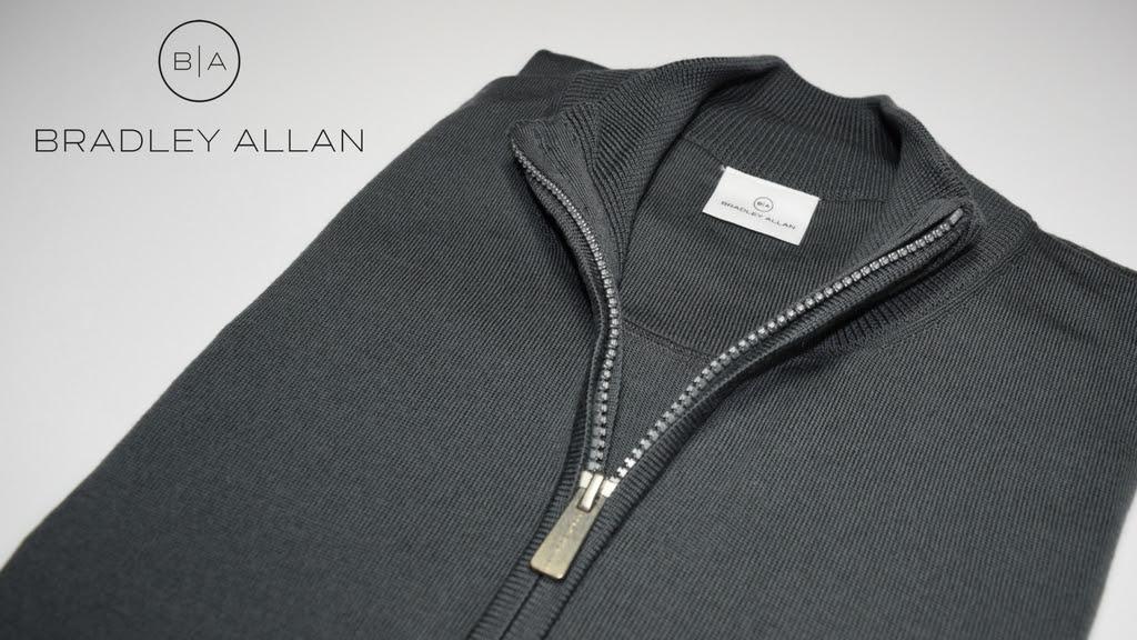 BRADLEY ALLAN Quarter-Zip Sweaters Now Available