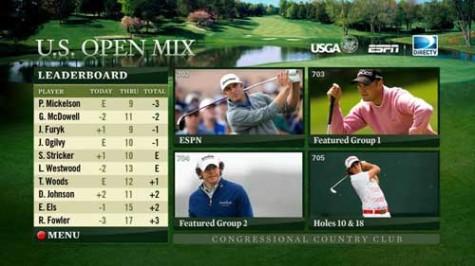 Golf US Open DirecTV